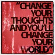 Inspiración Yes You Can!: Podemos generar cambio cada día.  A través de nuestros pensamientos, nuestras palabras y nuestras acciones. — Deepak Chopra  Lee más aquí: www.alejandrochaban.net