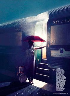 The Marie Claire UK 'Orient Express' Photoshoot Stars Leah de Wavrin