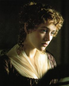 ✍ Jane Austen ✍ Sense and Sensibility - Marianne Dashwood North And South, Jane Austen Movies, Little Dorrit, Ang Lee, Becoming Jane, Jane Eyre, Kate Winslet, Star Wars, Pride And Prejudice