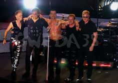 Depeche Mode, Dave Gahan, Martin Gore, Andy Fletcher, Peter Gordeno, Christian Eigner