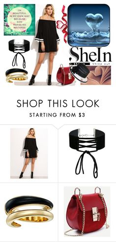 """SheIn"" by elza-345 ❤ liked on Polyvore featuring Miss Selfridge, Michael Kors and Nine West"