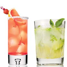 Make some lightened-up cocktails -- 60 of 'em in fact -- that don't slack on flavor. #SELFmagazine