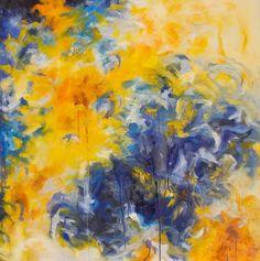 "Saatchi Art Artist Gaby Silva Bavio; Painting, ""Summer feeling 3"" #art"