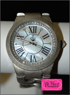 Perfect watch for every fashionista!  Watches aren't about telling time anymore, they are your best statement piece.