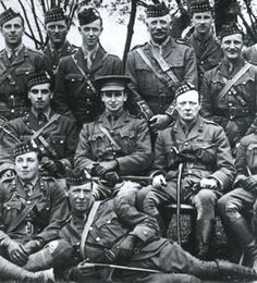 Winston Churchill during The first world war