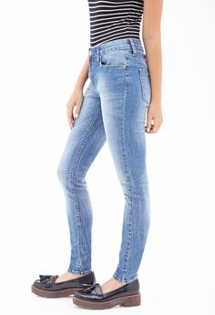 Low Rise - Skinny Jeans | FOREVER21 - 2000102970