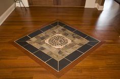 Tile Floor Medallion Design Ideas, Pictures, Remodel, and Decor
