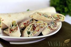 Wildtree's BLT Salad Rollups  A healthier version of classic...Wildtree style! Find this, other recipes & our deliciously good for you foods @ www.mywildtree.com/christypogue