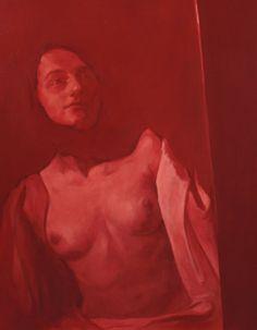 Senza titolo, olio su tela, 80 x 60 cm