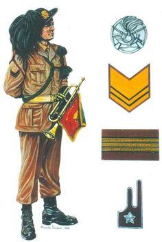 Esercito Italiano - Caporale della fanfara di un Reggimento Bersaglieri