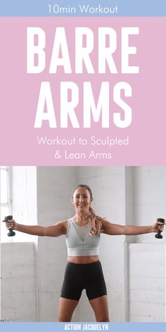 Ab And Arm Workout, Arm Workout Challenge, Kettlebell Arm Workout, Arm Workout No Equipment, Arm Workout For Beginners, Barre Workout Video, Workout Videos, Gym Beginner, Pilates Workout