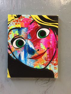 Tangled  Ready to Hang Art on Stretched Canvas by PlanetGiggles