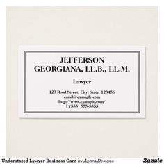 Customizable Counsellor At Law Business Card Lawyer Business Card, Business Card Design, Elegant Business Cards, Card Designs, Prints, Nice, Card Patterns, Nice France