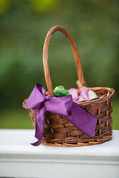 Tangled Wedding Basket  Photo By Jenna Henderson