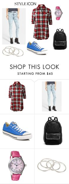 """""""Aby"""" by abydallas on Polyvore featuring mode, LE3NO, STS Blue, Converse, STELLA McCARTNEY, Ernst Benz et Vanessa Mooney"""