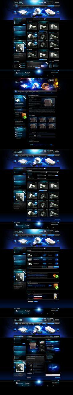 galeria led by ~webdesigner1921 on deviantART