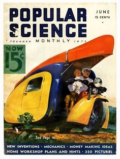 1936.  I don't think we have combination motocycle/camping homes yet, but I can't be sure.  :)