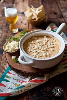 Corn and Cotija Beer Cheese Dip