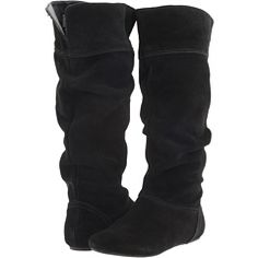 Christin Michaels black flat boots