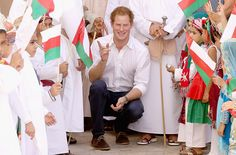 Prince Harry giggles his way through mock swordfight - Photo 7 | Celebrity news in hellomagazine.com