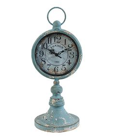 Loving this Rustic Standing Clock on #zulily! #zulilyfinds