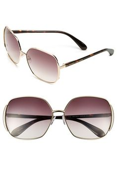 Free shipping and returns on MARC BY MARC JACOBS 61mm Vintage Inspired Oversized Sunglasses at Nordstrom.com. Goldtone accents fashion the sides of glamorous sunglasses with oversized lenses.