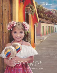Venezuela - As featured in My Very Own World Adventure personalized childrens book by I See Me!