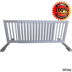 Dream milf swinging security gate with extensions - white