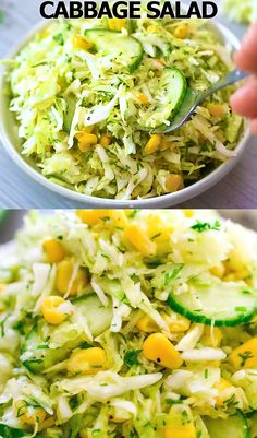 Cabbage Salad with Corn Vejeteryan yemek tarifleri – The Most Practical and Easy Recipes Cabbage Recipes, Soup Recipes, Salad Recipes, Diet Recipes, Vegetarian Recipes, Cooking Recipes, Healthy Recipes, Vegan Vegetarian, Vegetarian Sweets