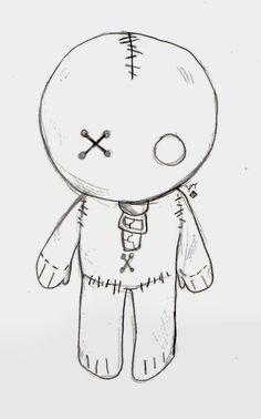 Voodoo emo doll