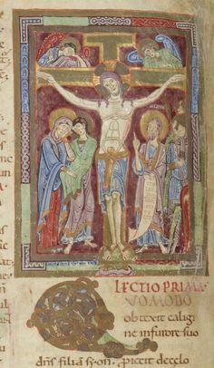 Lectionarium officii ad usum Sancti Petri Cluniacensis , dit Lectionnaire de Cluny . -- 1090-1110 -- manuscrits