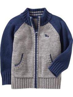Zippered Raglan Sweater- Old Navy- $24.94