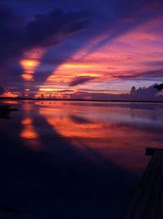 Sunset, Turquoise Cay Boutique Hotel, Exuma. #luxurytravel #luxury #Bahamas