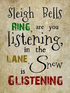 Sleigh Bells RIng by Summer Snow Art
