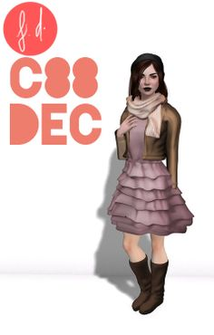 Fashionably Dead ❈ Fluffy Girly Dress ❈ Demo available ❈ 6 variations  ❈ 188L each  ❈ Leather Jacket  ❈ Demo available  ❈ 6 variations  ❈ 188L each   ❈ Baggy Boots  ❈ Demo available ❈ 6 variations ❈ 88L each   ❈ Cozy Scarf ❈ 6 variations ❈ 88L each