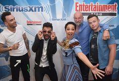 Dominic Cooper Ruth Negga  The Cast of Preacher at Comic-Con 2017