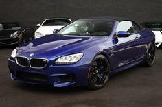 BMW M6 (Blue) for rent in South Beach, Miami, FL Cars #BMW #MiamiExoticCarRental #ExoticCars #Luxury