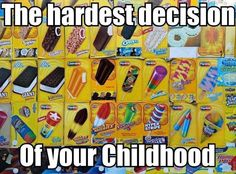 The hardest decision of your childhood