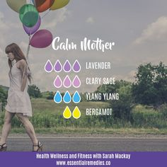 Calm Mother diffuser blend.