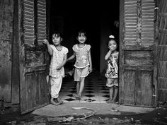 Doors are open, Village near Can Tho - Mekong Delta by theblackstar, via Flickr