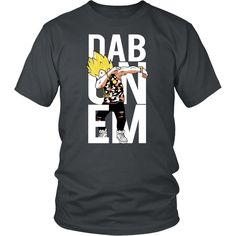 Super Saiyan Vegeta Dab Men Short Sleeve T Shirt - TL00496SS