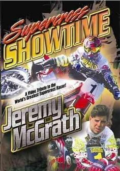 Shop Supercross Showtime with Jeremy McGrath [DVD] at Best Buy. Find low everyday prices and buy online for delivery or in-store pick-up. Motocross Movies, Motocross Bikes, Vintage Motocross, Mx Bikes, Honda Bikes, Dirt Bike Racing, Off Road Racing, Bike Freestyle, Off Road Bikes