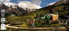 TOUCH esta imagen: EcoCamp Patagonia - Sustainable Lodge Torres del Paine NP by EcoCamp