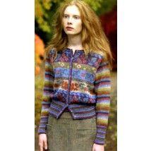 Rowan Fairisle & Stripe Cardigan kit