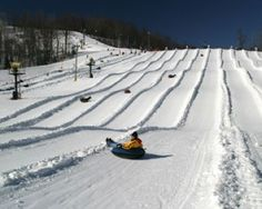Winterplace Ski Resort Tubing - WV - been there to ski but not tube.