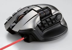 Dux MMO Gaming Mouse For MMORPG Gamers Offers 19 Buttons And Two Scroll Wheels - A new gaming mouse designed for MMORPG gamers has been unveiled this week by Elecom that comes equipped with 19 buttons and to scroll wheels all of which can be programmed to create in-game shortcuts.   Geeky Gadgets