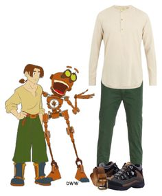 """Jim Hawkins"" by dprice15 ❤ liked on Polyvore featuring Dunham, De Bonne Facture, prAna, men's fashion and menswear"
