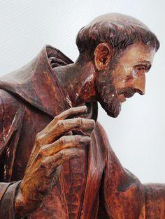 St Francis Assisi, Santa Clara, St Clare's, San Francisco, Catechism, France, Patron Saints, Lion Sculpture, Statue