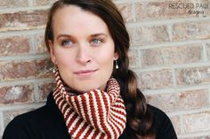 Rescued Paw Designs loved our Heartland yarn so much she decided to make a Tunisian Crochet Cowl.