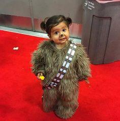 Toddler Chewbacca costume
